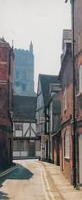 alleyways of Tewkesbury